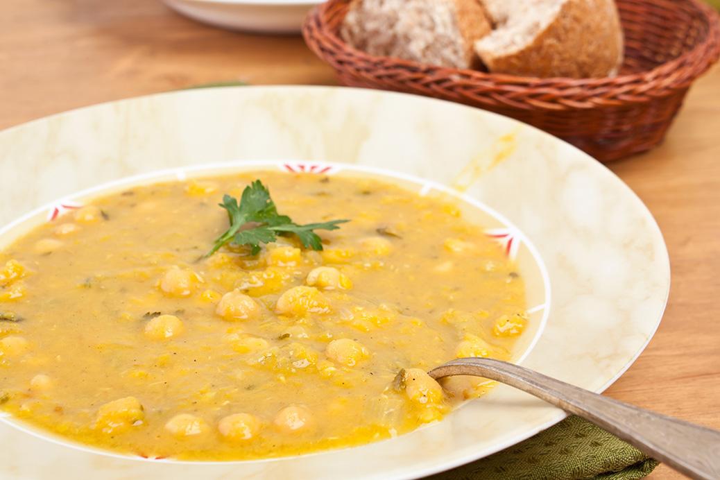 Суп гороховый простой