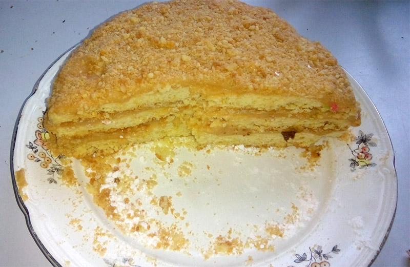 Торт «Азовское море»