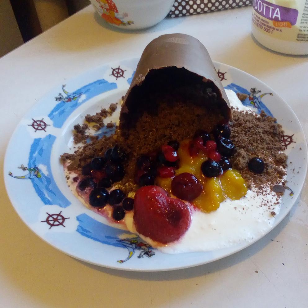 Разбитый горшочек — десерт